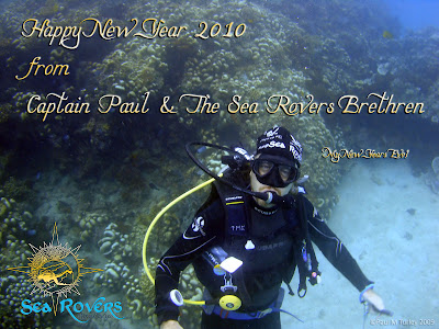 Captain Paul M Turley, on the good reef 'Coral Bommie', Pemuteran
