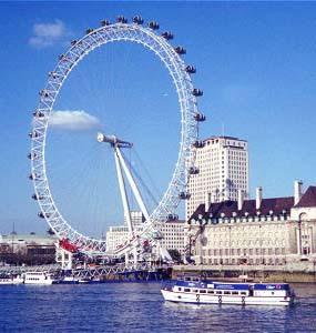 London eye o Millennium Wheel di Londra