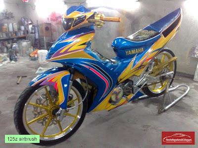 Modifikasi Motor Yamaha Nouvo Lele
