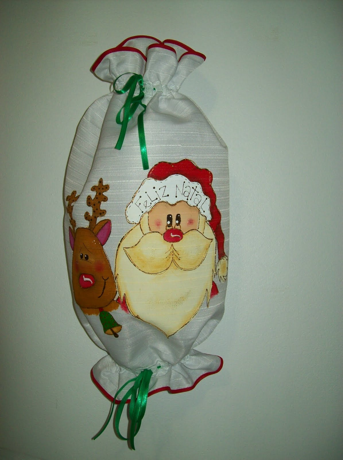 Capa Para Bombona E Puxa Saco Natal