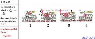 Msochet decrease 2 single crochet decrease 2 single crochet ccuart Images