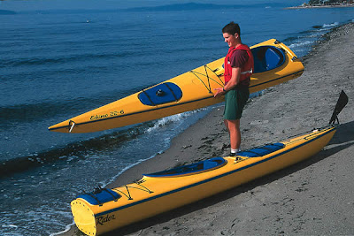 SECTIONAL SEA KAYAK EasyRider Eskimo 22 Foot Tandem 2 Piece Kayak