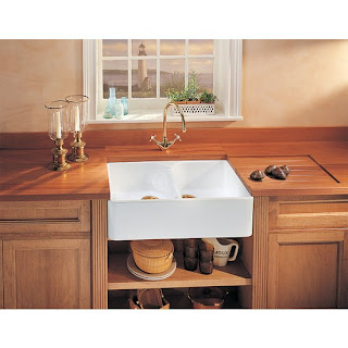 Small Kitchen Farm Sink : Small Kitchen Trends: 5 inspiring small kitchen sinks