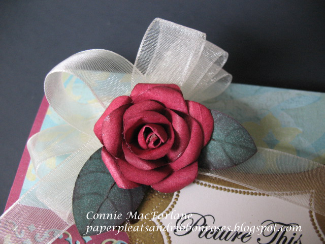 Have you ever tried origami the art of folding paper you can make paper pleats and ribbon roses paper roses instructions mightylinksfo