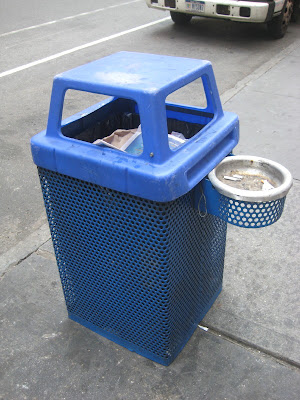 Street trash can