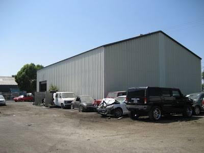 Los Angeles Warehouse With Cars