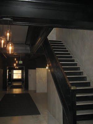 Rowan Lofts stairway