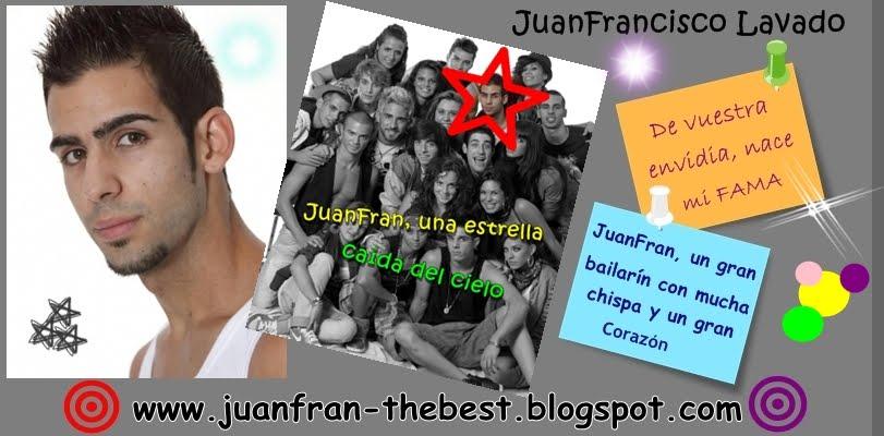JuanFran concursante de Fama ¡ A Bailar !