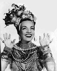 Carmem Miranda - Cantora brasileira que mais fez sucesso no exterior - 1909 / 1955