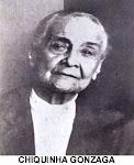 Chiquinha Gonzaga - Compositora, pianista e regente brasileira.  1847 / 1935