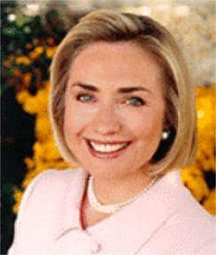 Hillary Clinton - Foi  Primeira-dama dos Estados Unidos de 1993 a 2001 - Secretária de Estado