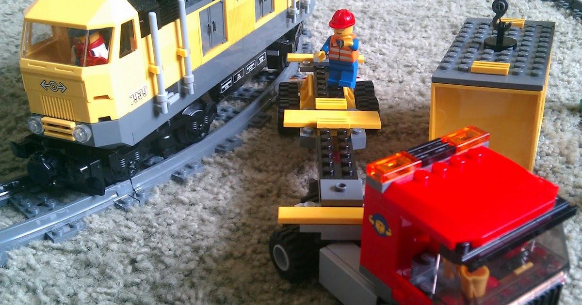Lego Maker Lego 7939 Cargo Train 7896 Rails