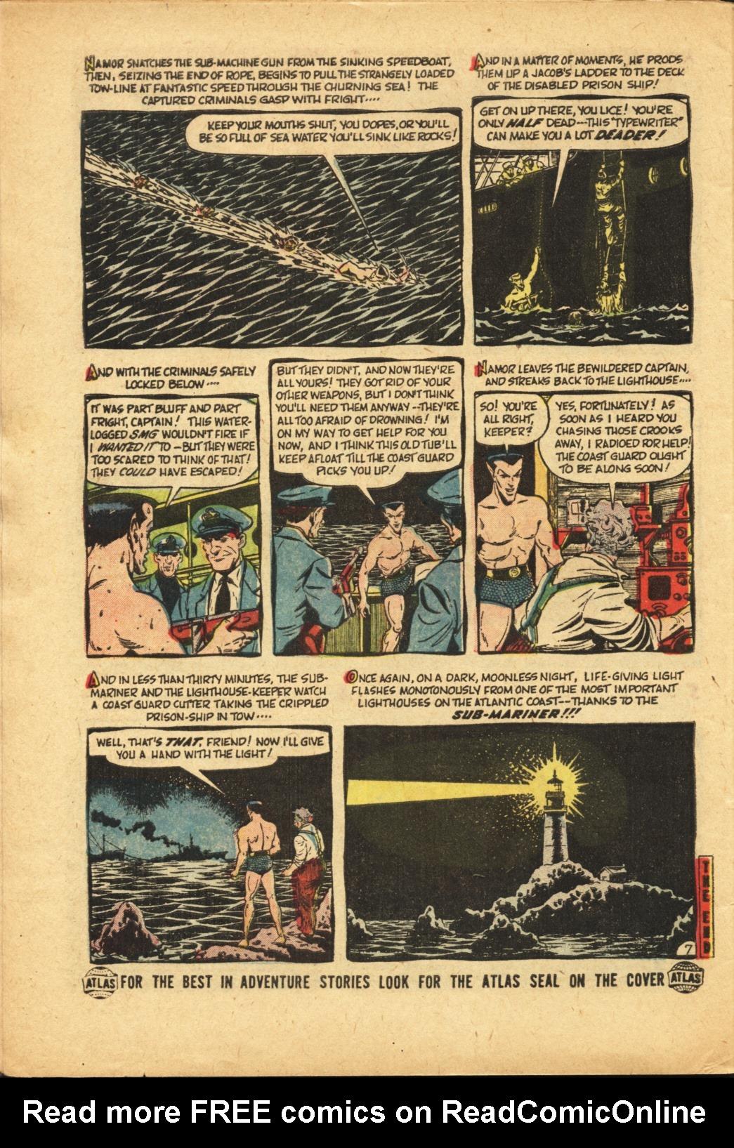 Sub-Mariner Comics #42 #42 - English 24