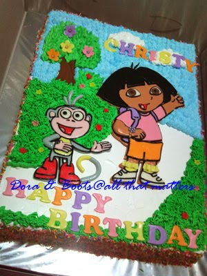 all that matters dora and boots