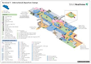 Аэропорт хитроу терминал 5 схема на русском