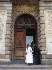 Porte du parlement de Rennes