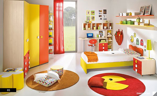 ������ ��� ����� 2012 ���� ����� ������ ��� ����� 2013 ��� ���� Pac-Man-Bedroom.jpg