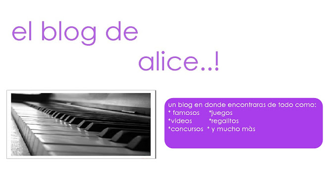 el blog de alice