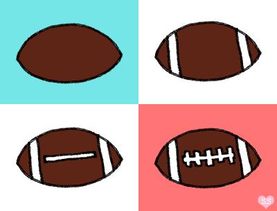 Football Cake Bites. inspired by Bakerella favorite cake recipe
