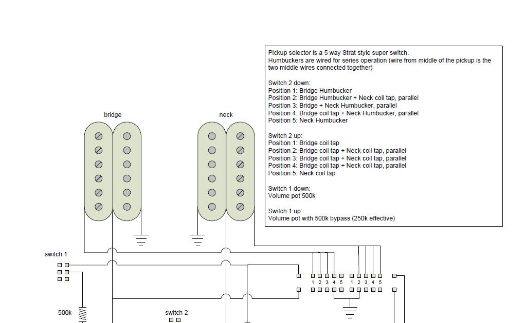 Acguitar  Initial Wiring Diagram