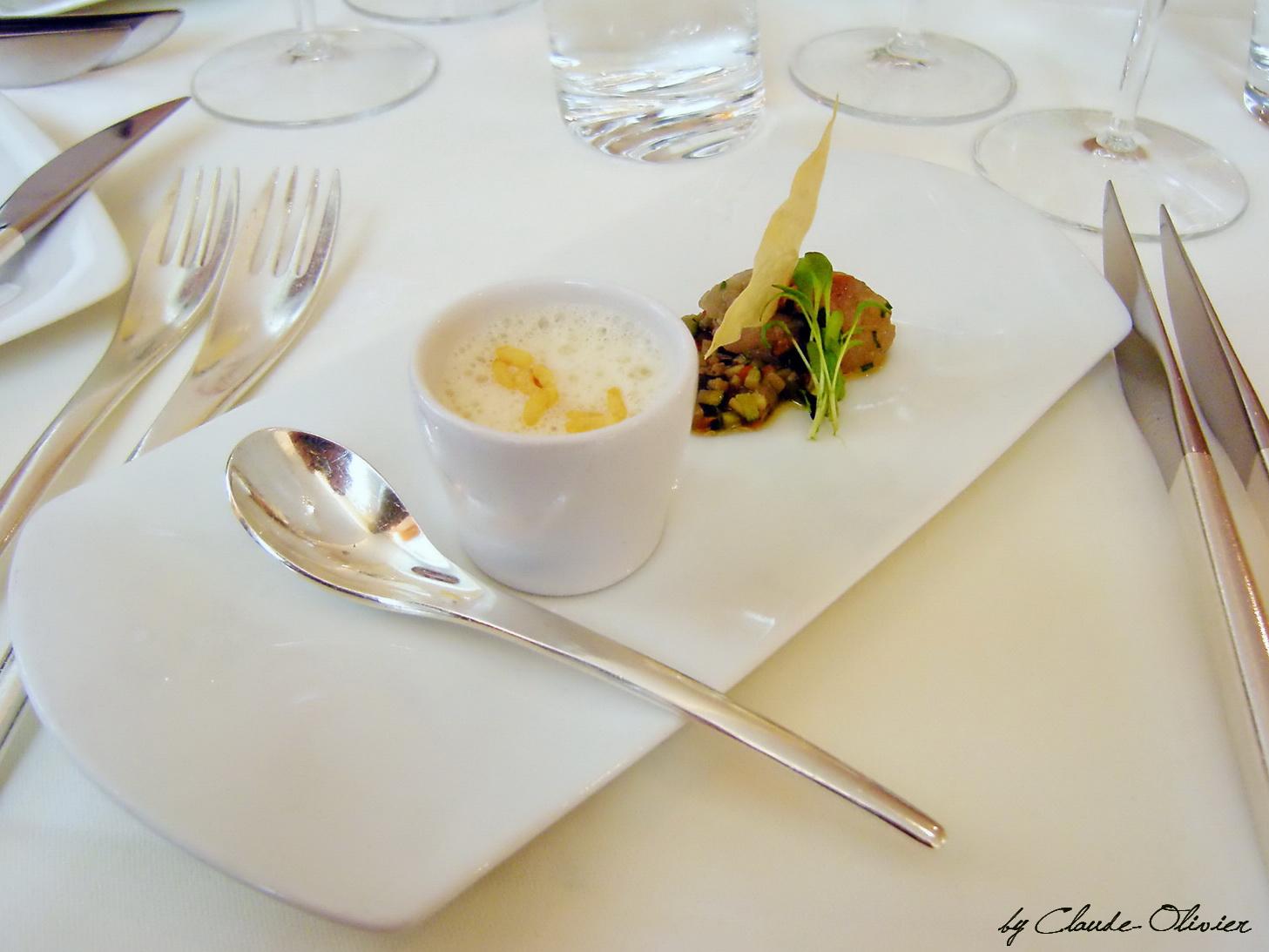 1001 recettes menu automnal gastronomique le p rolles for Entree gastronomique