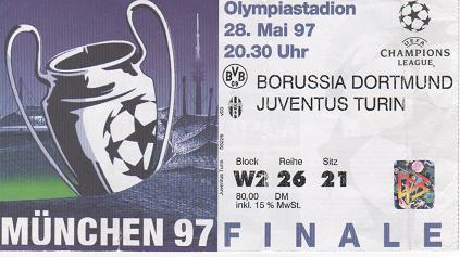 1997, MUNIC (Borussia Dortmund)
