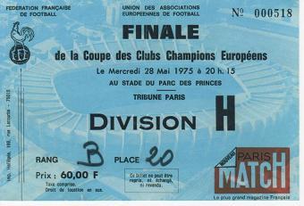 1975, PARIS (Bayern Munic)