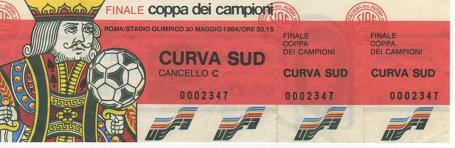 1984, ROMA (Liverpool)