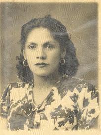 Mamá en su juventud