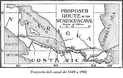Nicaragua Canal plans from 1902