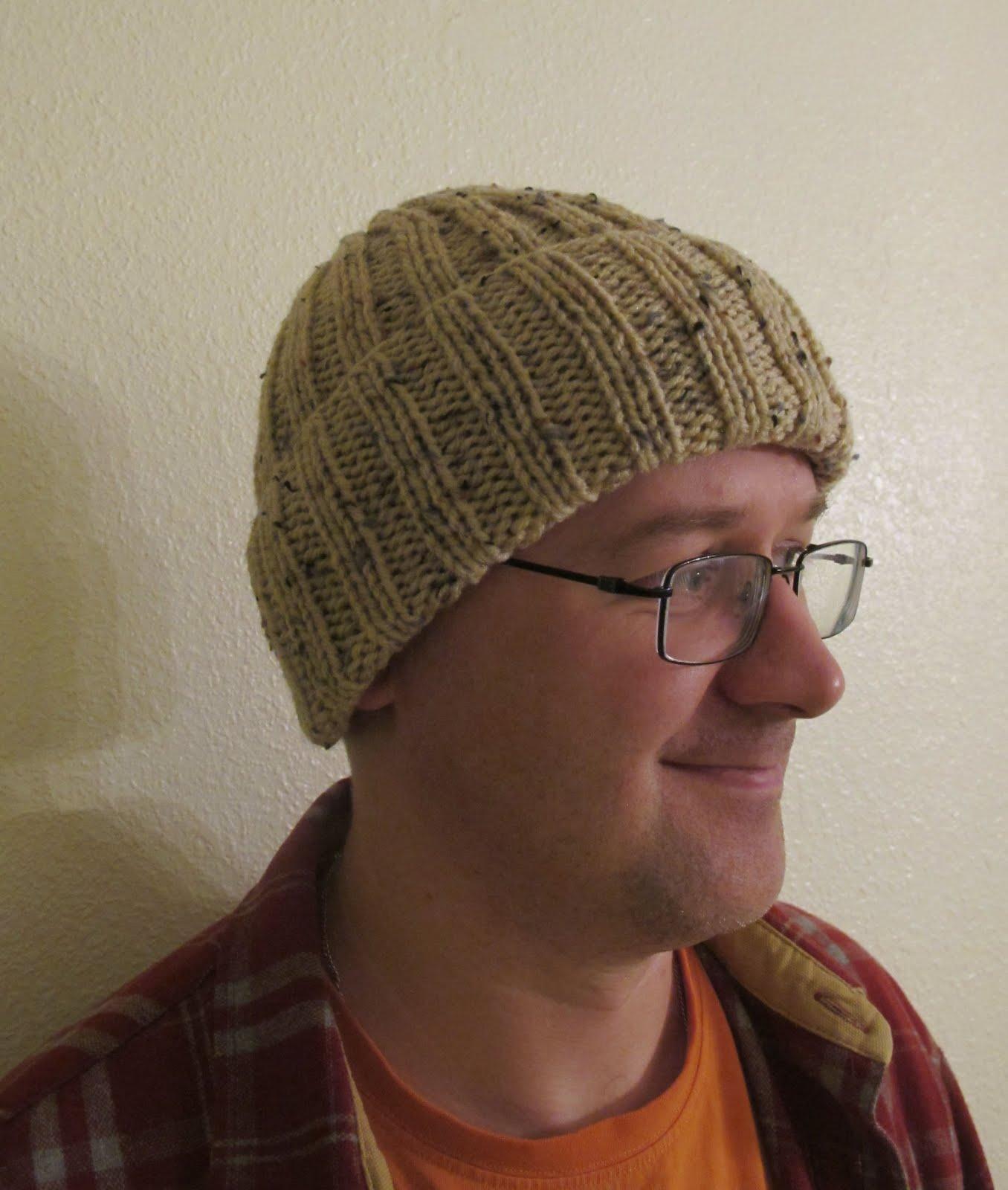 Связать шапку английской резинкой
