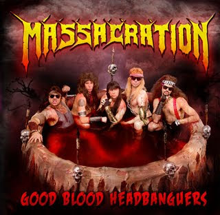 Massacration - Good Blood Headbanguer