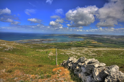 Black Head in The Burren in county Clare