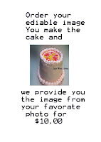Order an Ediable Image