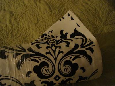 Labels Black and White Color Palettes Damask Linens