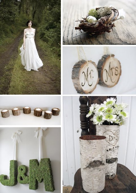 The Storque recently posted a great roundup of rustic wedding items that can
