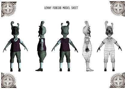 Lenny Model Sheet