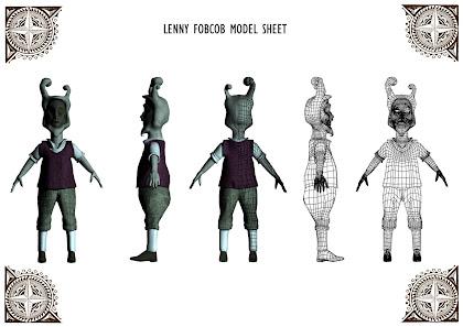 Lenny Model Sheet