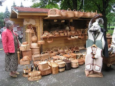 Latvian baskets