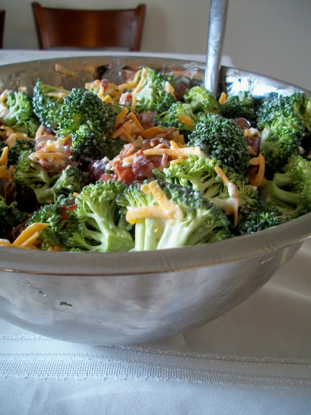 Brooke Bakes Broccoli Salad