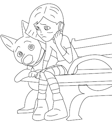 Bolt Coloring Pages: Two New and Free Bolt Coloring Pages