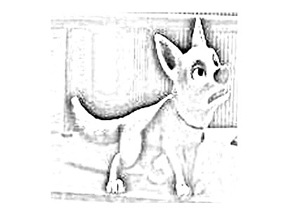 hamster coloring pages. More Bolt Coloring Pages