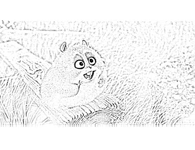 hamster coloring pages. the Bolt coloring pages,