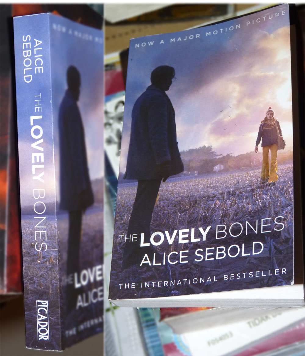 the lovely bones by alice seabold Alice sebold's haunting and heartbreaking debut novel, the lovely bones, unfolds from heaven, where life is a perpetual yesterday and where susie narrates and keeps watch over her grieving family and friends, as well as her brazen killer and the sad detective working on her case.