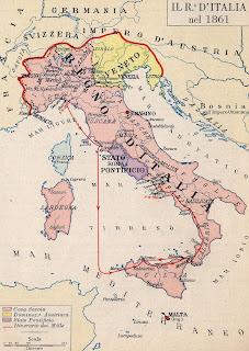 Italia en 1861