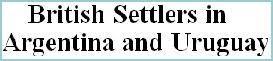 Bautismos, matrimonios, defunciones y entierros de las iglesias anglicana y presbiteriana en Argentina