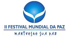 Seja um/a parceiro do II Festival Mundial da PAZ