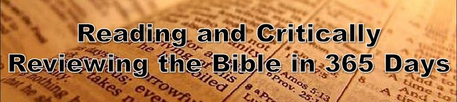 Reading and Critically Reviewing the Bible in 365 Days