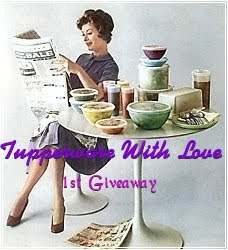 'Tupperware with Love, 1st Giveaway'