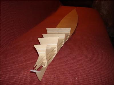 Paper Titanic Model